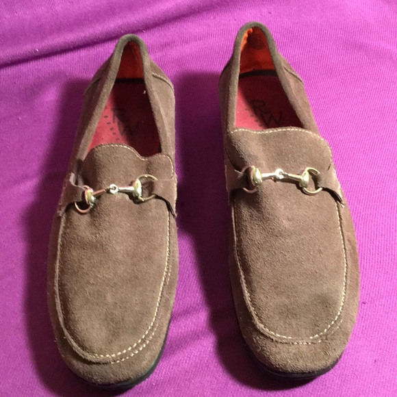 Robert Wayne Other - Robert Wayne Grey suede loafers SZ 11